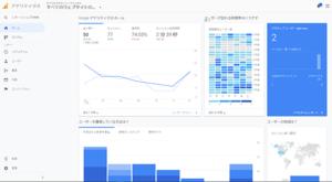 Googleアナリティクスのダッシュボード